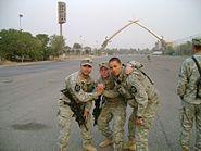 C-52 Soldiers in Green Zone, Baghdad, Iraq, Dec 13, 2006
