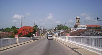 Carretera Central (Cuba) - Image: CC Sto Domingo