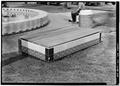CENTRAL COURTYARD TILE STORAGE BOX - U.S. Naval Hospital, Park Boulevard, Balboa Park, San Diego, San Diego County, CA HABS CAL,37-SANDI,27-48.tif