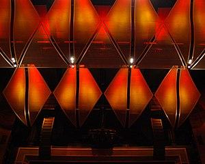 Cobb Energy Performing Arts Centre - Image: CEPAC Williams Ceiling