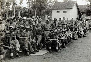 "Netherlands Indies Civil Administration - ""NICA"" troops 1947."