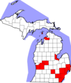 COVID-19 Cases in Michigan by counties.png