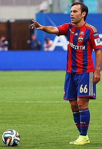Bibras Natkho - Natkho playing for CSKA Moscow in 2014