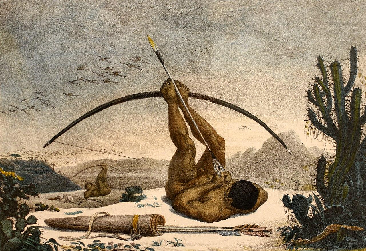 LA ZAD EN L'ÉTROIT TERRITOIRE - L'OUTRE-RÉEL IV.2 1280px-Caboclo_by_Jean-Baptiste_Debret_1834