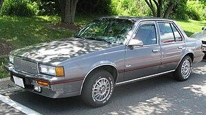 Cadillac Cimarron - Image: Cadillac Cimarron 2 07 01 2009