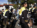 Cal Band en route to Memorial Stadium for 2008 Big Game 16.JPG