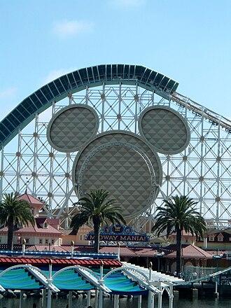 Incredicoaster - Image: California Screamin' Mouse Ears