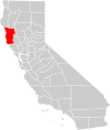 California county map (Mendocino County highlighted).svg