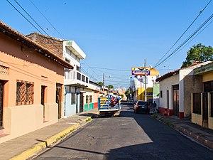 San Miguel, El Salvador - Image: Calles de San Miguel, El Salvador