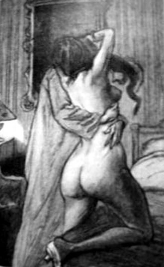 Octave Mirbeau - Georges Jeanniot, Le Calvaire (1901)