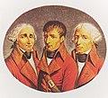 Cambacérès, Bonaparte et Lebrun membres du consulat en 1799.jpg