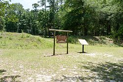 Camp Lawton earthenworks, Jenkins County, GA, US.jpg