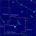 Canis minor constellation map-fr.png
