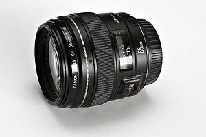 Canon EF portrait lenses - Canon EF 85mm f/1.8 USM, a classic portrait lens