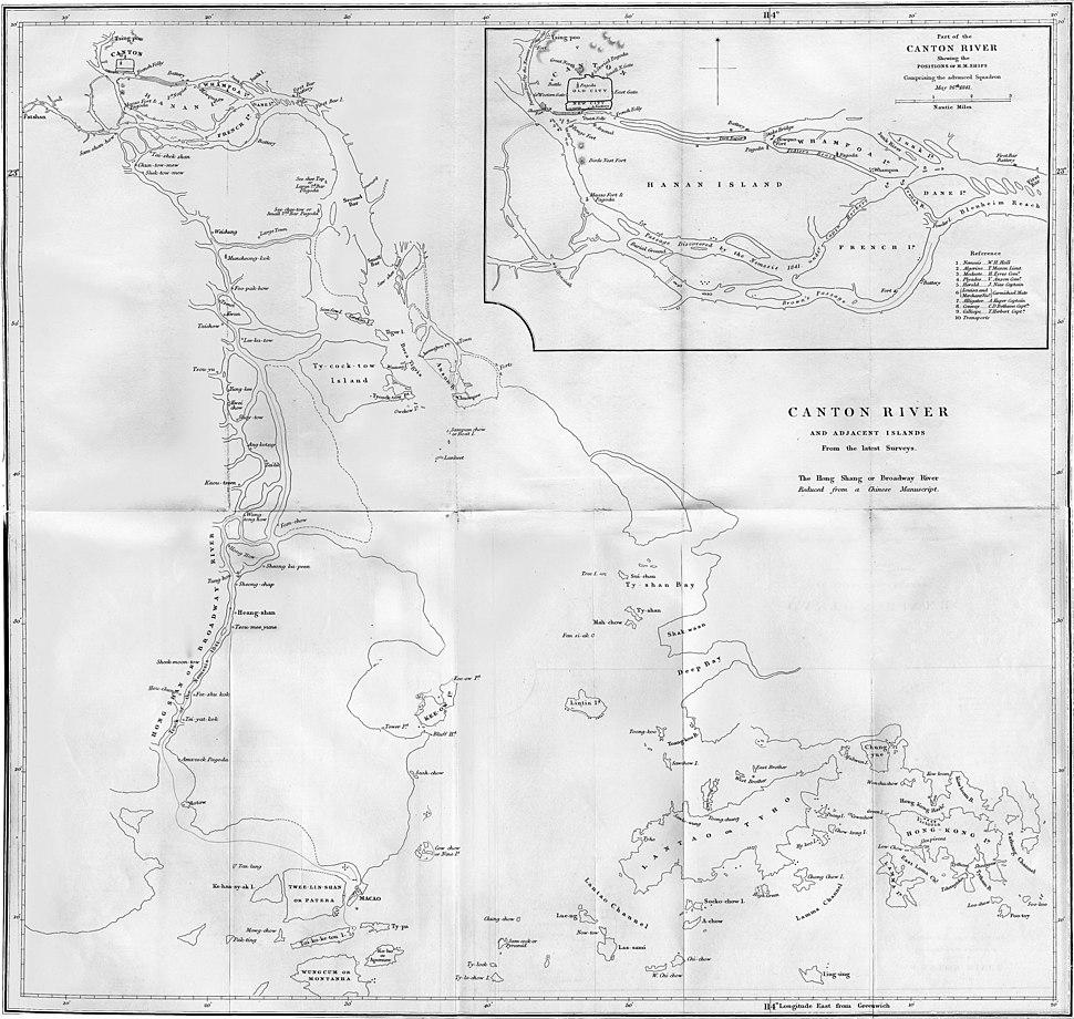 Canton River and adjacent islands