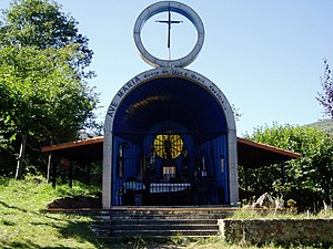 Garabandal apparitions - Small chapel placed in the mountain of Garabandal village dedicated to Saint Michael the Archangel.