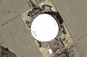 Capital Centre - Image: Capital Centre satellite view
