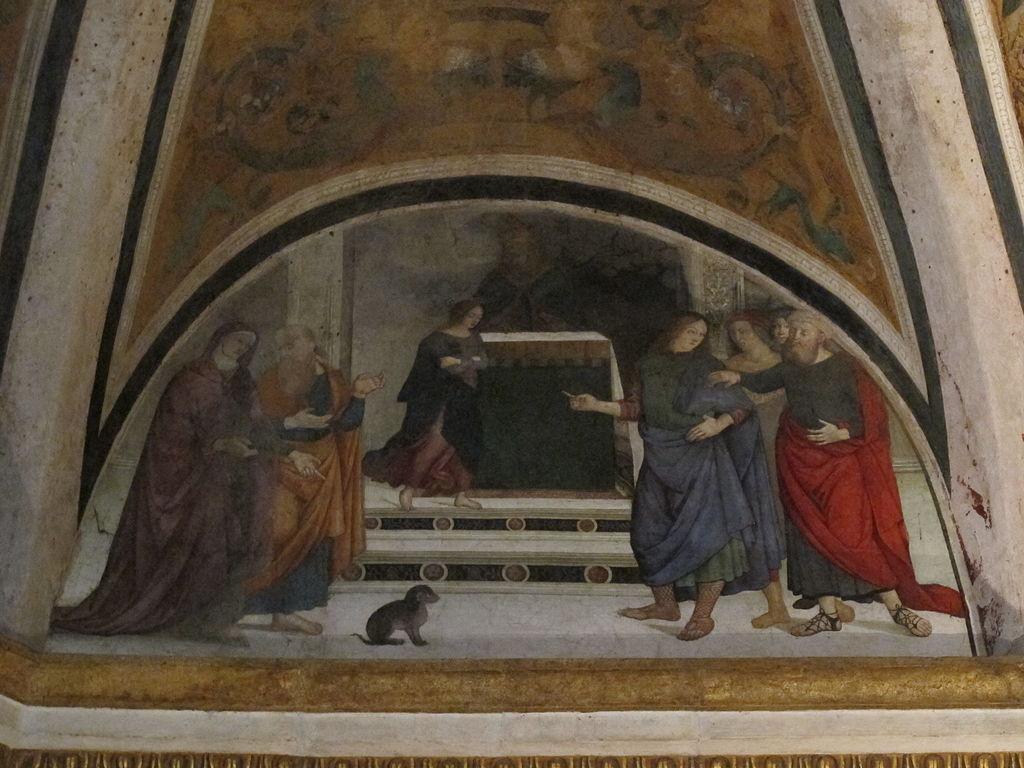 file cappella basso della rovere lunette di pinturicchio