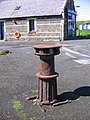 Capstan in front of Lifeboat shed - geograph.org.uk - 930878.jpg