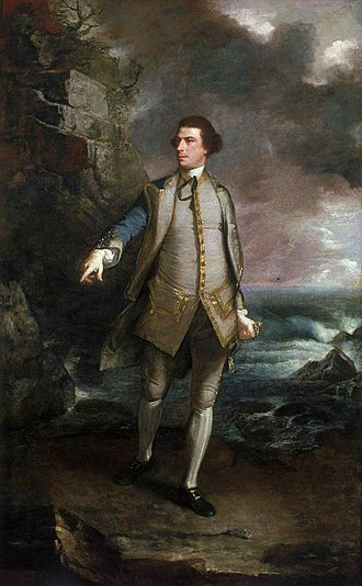 1753 in art - Image: Captain the Honourable Augustus Keppel 1725 86 by Sir Joshua Reynolds