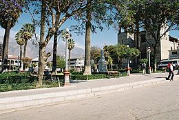 Plaza de Armas Vista Lateral