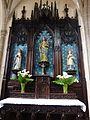 Carhaix 35 Eglise Saint-Trémeur Autel latéral gauche (de la Vierge).jpg
