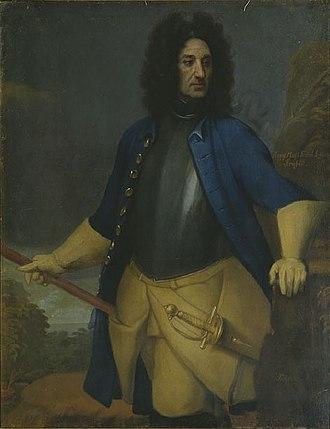 Siege of Fredriksten - Carl Gustaf Armfeldt