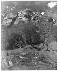 Der Eisberg bei Berchtesgaden von der Trübenbachtratte aus gesehen (Berglandschaft)