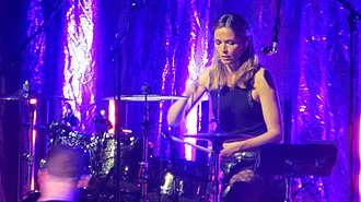 Caroline Corr - Caroline Corr in the White Light Tour.