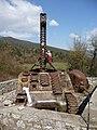 """Carrarmato nei pressi della """"quota 593"""" della battaglia di Montecassino - panoramio.jpg"""