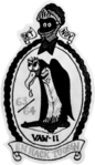 Carrier Airborne Early Warning Squadron 11 Det.N insignia on USS Hornet (CVS-12) 1963-64.png