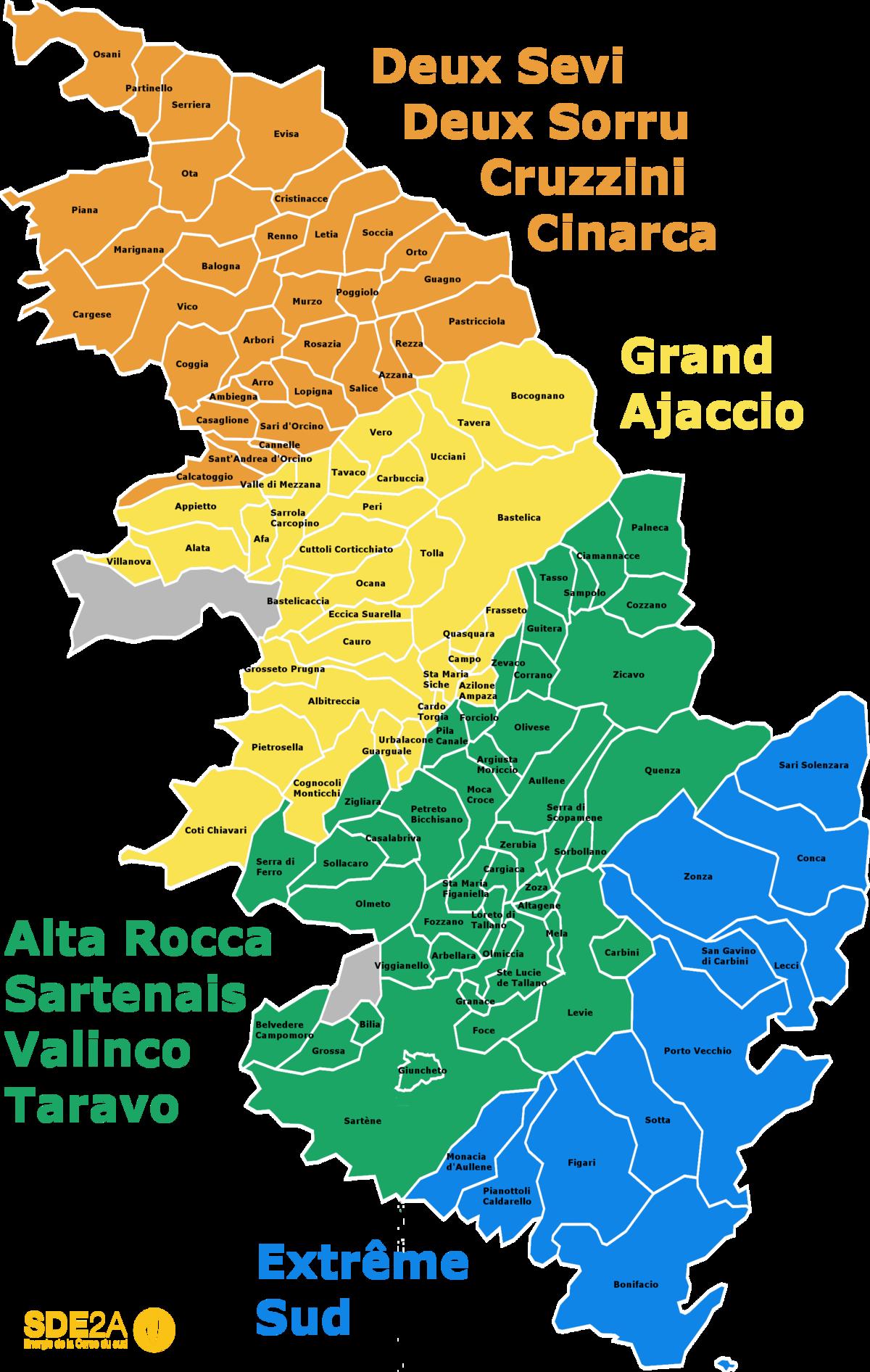 Syndicat départemental d'énergie de la Corse du Sud — Wikipédia