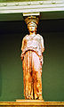 Caryatid from the Erechtheum. Pentelic Marble. About 415 BC - British Museum 2.jpg