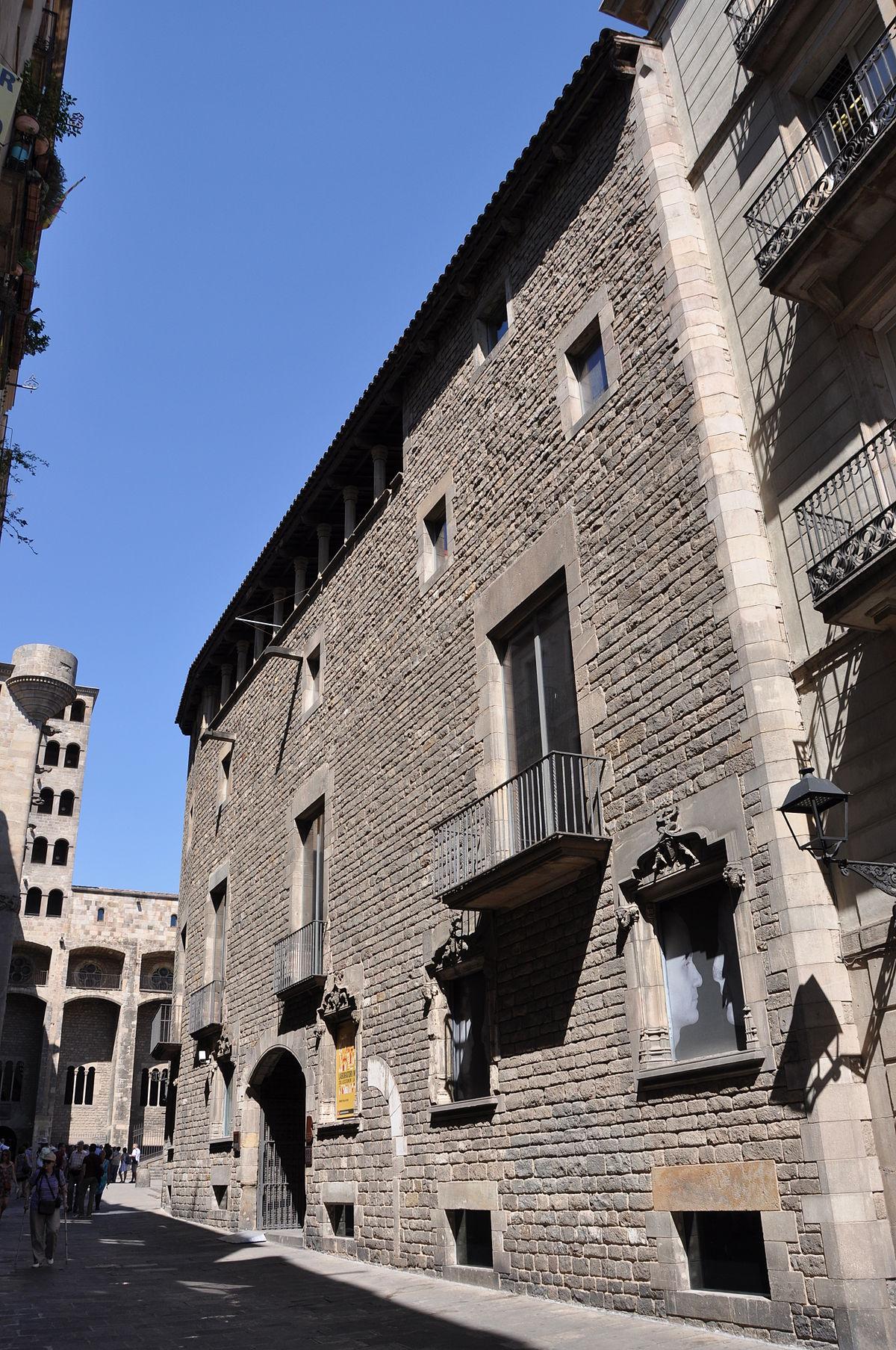 Barcelona city history museum wikipedia for Sala 976 latin palace