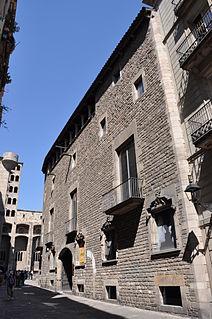 History museum in Plaça del Rei, Barcelona