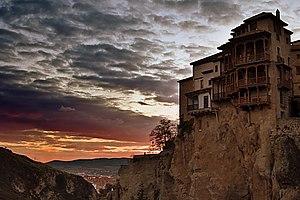 Castilla-La Mancha - Casas Colgadas in Cuenca, Spain.