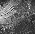Casement Glacier, valley glacier terminus and outwash plain, August 24, 1963 (GLACIERS 5280).jpg