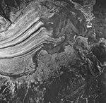 Casement Glacier, valley glacier terminus and outwash plain, August 24, 1963 (GLACIERS 5280).jpg