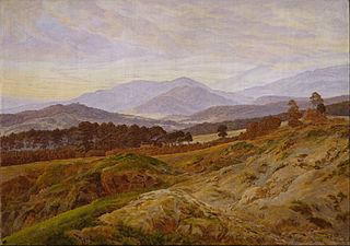Paysage dans le massif des Géants