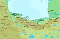 Caspian coast of Iran during the Iranian intermezzo.png