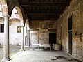 Castiglione olona, palazzo branda, esterno, loggia sul giardino 01.jpg
