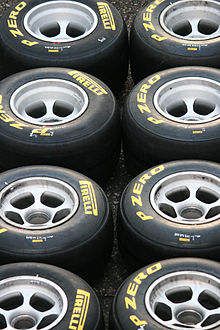 Photo de pneumatiques Pirelli.