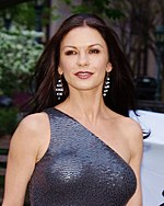 Photo of Catherine Zeta-Jones at the 2012 Tribeca Film Festival.