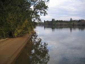 Cattai National Park - Hawkesbury River viewed from Cattai Wharf