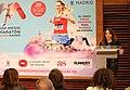 Celia Mayer, en la presentación del III Medio Maratón de la Mujer 06.jpg