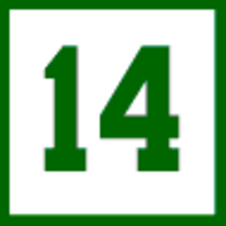 Bob Cousy - The Boston Celtics retired the number-14 jersey with Bob Cousy's name.