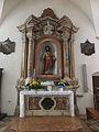 Cembra - Chiesa di Santa Maria Assunta - Interno - Altare Sacro Cuore.JPG