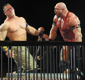Payback (2013) - John Cena and Ryback feuded together prior to the event.