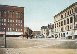 Central Square kring 1905