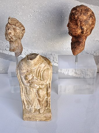 Gallo-Roman relicts at Heimatmuseum in Rapperswil